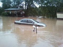 Flooding in Harpursville