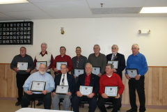 Inductees into Sidney FD Lifetime Status