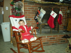 Ava Rae 17 months cant wait for santa!!!