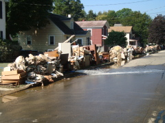 Owego is cleaning up after flood