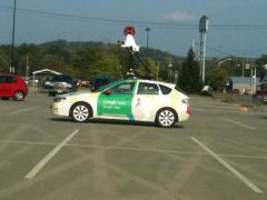Google Maps Automobile Is In Town