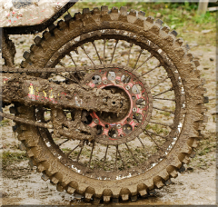 Muddy Racing at Broome Tioga Sportcenter