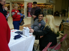 Blood Pressure Screening at Mall