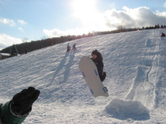 Extreme Sledding in Vestal NY