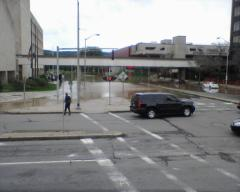Flooding in Downtown Binghamton