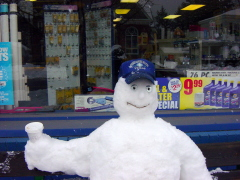 Napa Snow Man