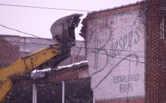 Bresee's Demolition Begins in Oneonta