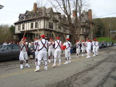 Annual visit of the Morris Dancers
