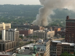 Derby Building Fire
