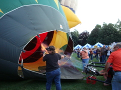 Balloons Launch on Opening Night