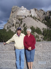 Mike & Linda Brannick at Mt. Rushmore