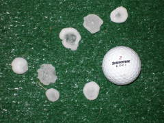 Hailstrom JC -compare to golfball!