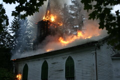 Church burns