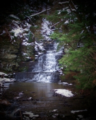 Little Buttermilk Falls