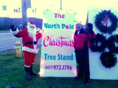 North Pole Christmas Tree Stand Opening