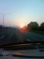 sunset of 09/02***6:45 am