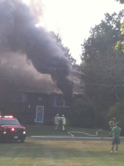 Endwell house fire