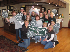 Hatala Orthodontics says 'Go Bearcats!'