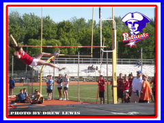 PATRIOT BREAKS POLE VAULT RECORD TONGIHT