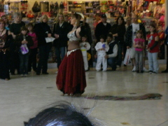 Belly Dancing At the Mall