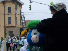 St. Baldrick's Float in St. Patrick's Day
