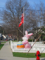 Happy Easter in Endicott, N.Y.!
