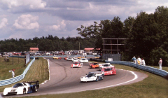 Racing at Watkins Glen 1984 1985
