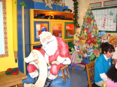 Santas Toy Shop at the Discovery Center