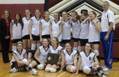 Sidney Girl Volleyball Champs