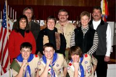 Sidney Troop 99 Eagle Scouts