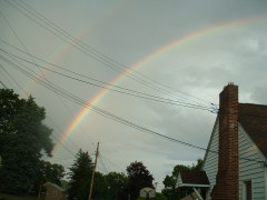 double rainbow captured in Endwell