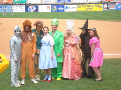 Chenango Valley cast of Wizard of Oz