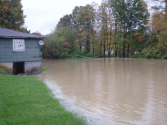 Flooding in Newark Valley