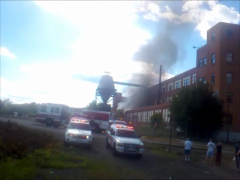 Fire at Endicott Factory