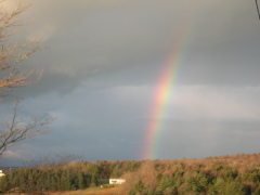 Morning Rainbow 11/17/10