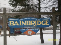 Snow in Bainbridge!