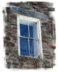 Stone House Window
