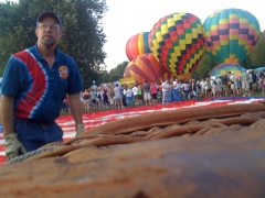 Spiedie Fest - Balloon Launch 1