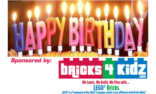 Happy Birthday Sponsored by Brickz For Kids