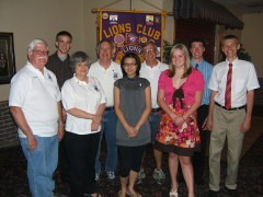 Apalachin Lions Club Awards Scholarship