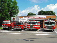 Edicott's Fire Dept Looking Good