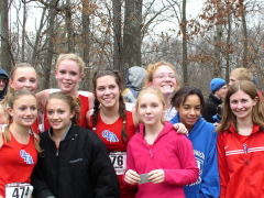 The OFA X-C Sect 4 Class B Champs