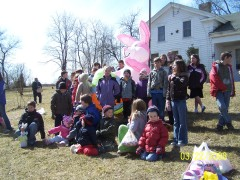 Easter Egg Hunt At Goodrich Settlement
