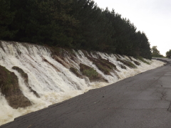 Maine Dam Overflows in Flood