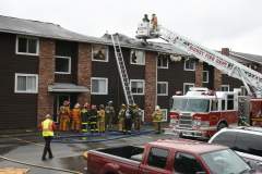 Fire in Sidney Sunday Morning