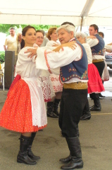 Moravian Dancers Delight St. Cyril's