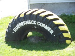 Rubberneck Corner gets a face lift