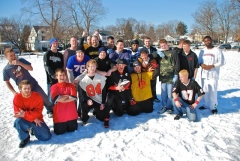Soft Landing: Winter Tackle football