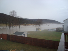 Flooding in Brackney P.A