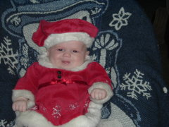I was Santa's lil helper!!!